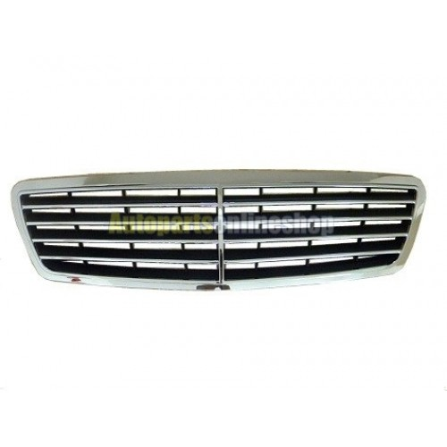 Mercedes benz c class w203 oem chrome grille for Mercedes benz chrome accessories
